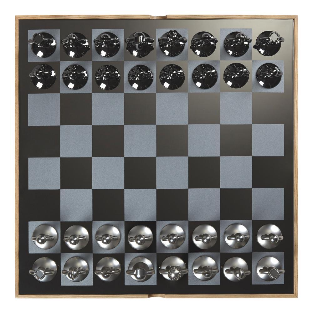 Umbra-BUDDY-scacchiera-gioco-degli-scacchi-giocattolo-gioco-degli-scacchi-in-legno-naturale-36-cm miniatura 4