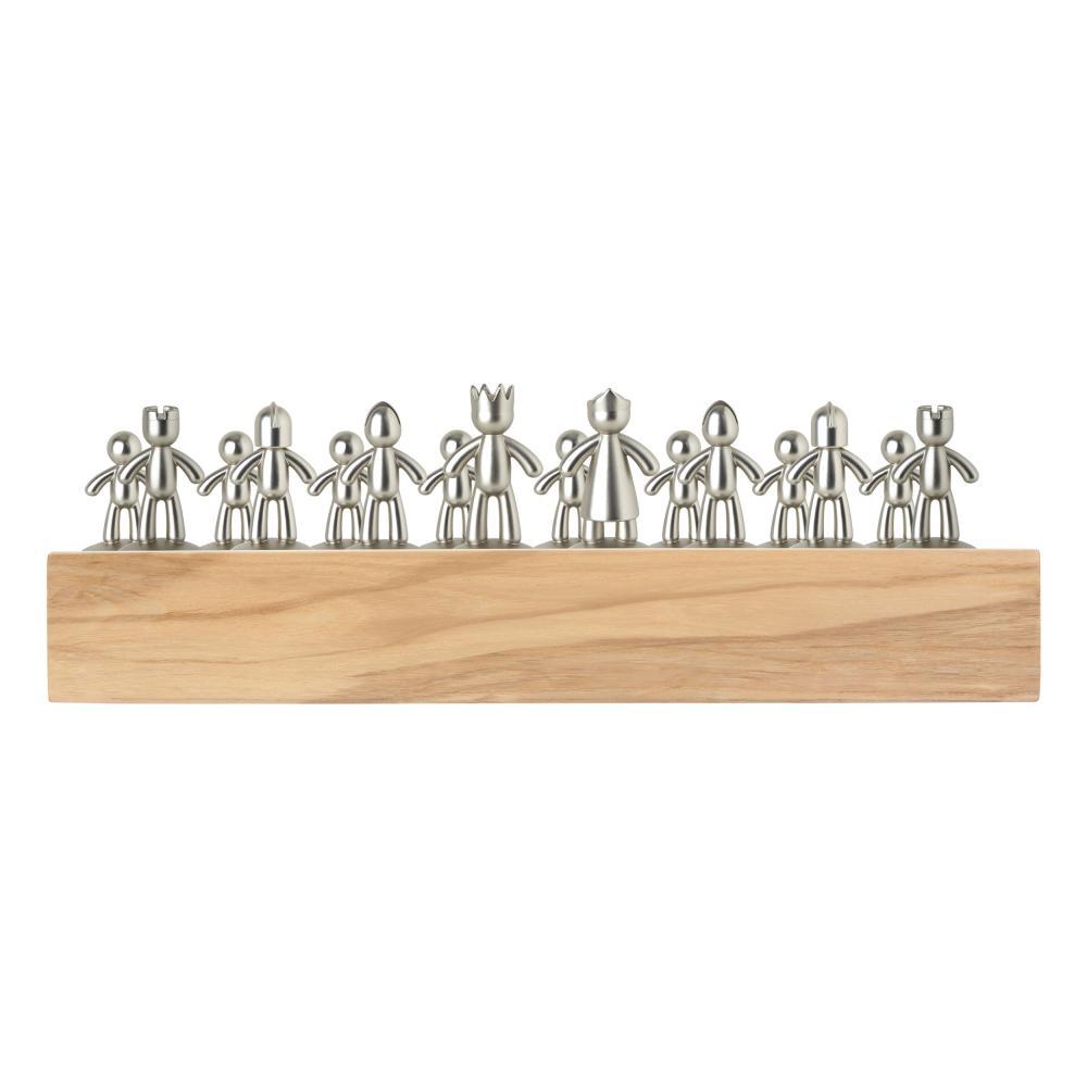 Umbra-BUDDY-scacchiera-gioco-degli-scacchi-giocattolo-gioco-degli-scacchi-in-legno-naturale-36-cm miniatura 5