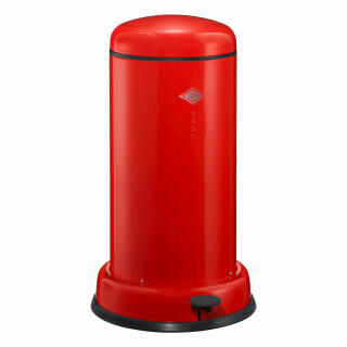 Wesco Baseboy 20 Liter Rood.Wesco Baseboy With Damper Waste Collector Pedal Bin Dustbin Red Steel Sheet 20 L 134531 02 At About Tea De Shop