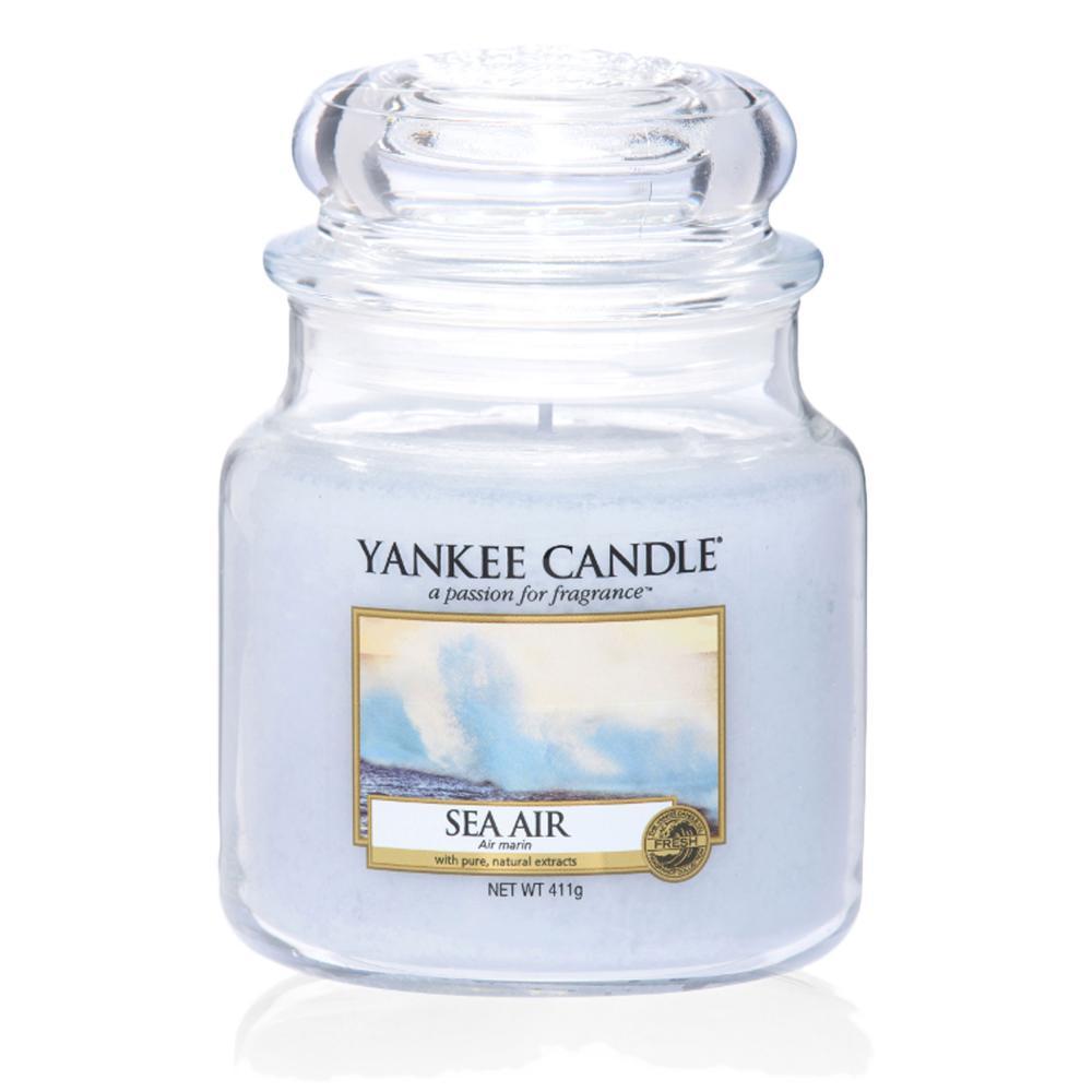 Yankee-Candle-Classic-Housewarmer-Mittel-Sea-Air-Duftkerze-Raum-Duft-im-Glas