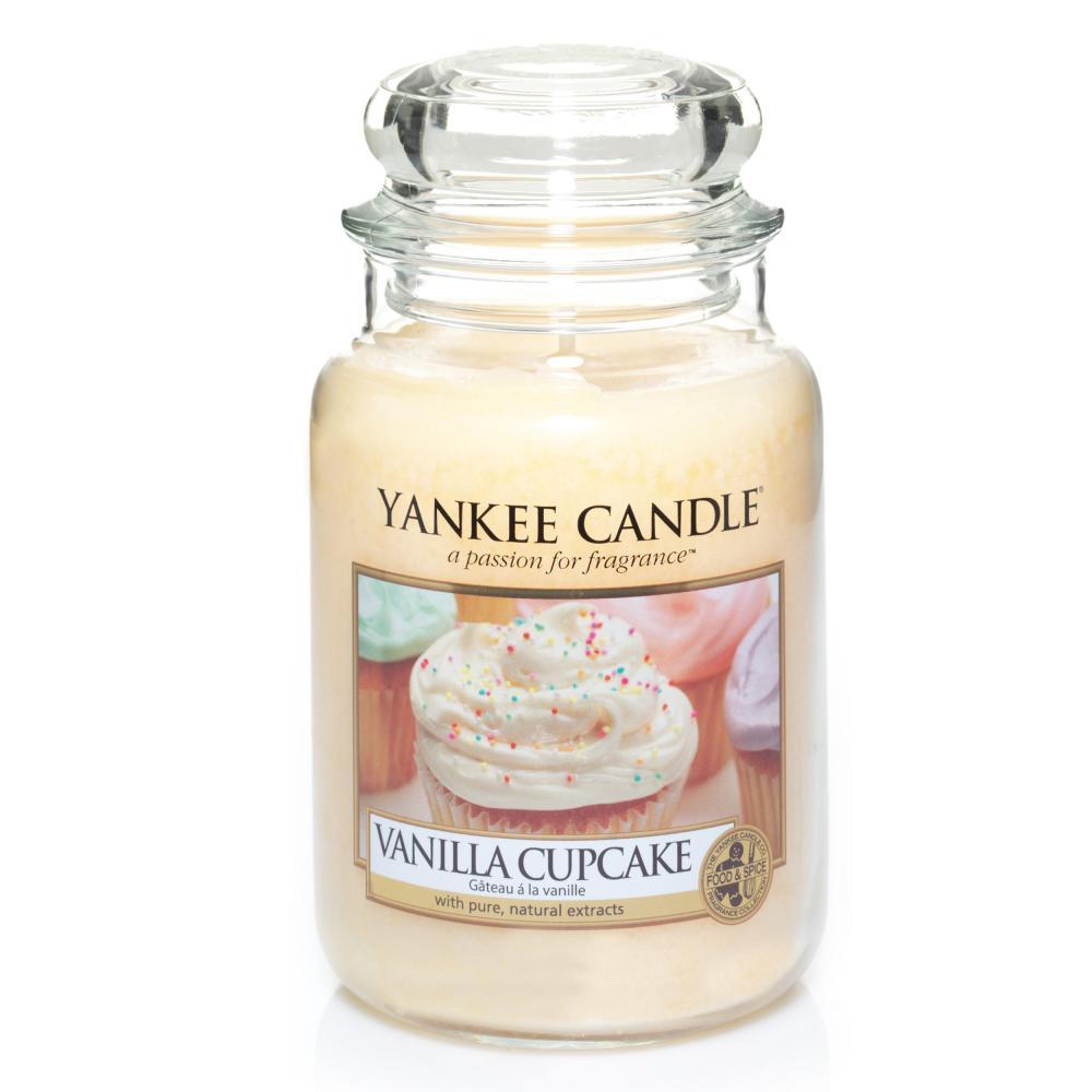 Yankee Candle Gross 3er Set Vanilla Cupcake Fluffy