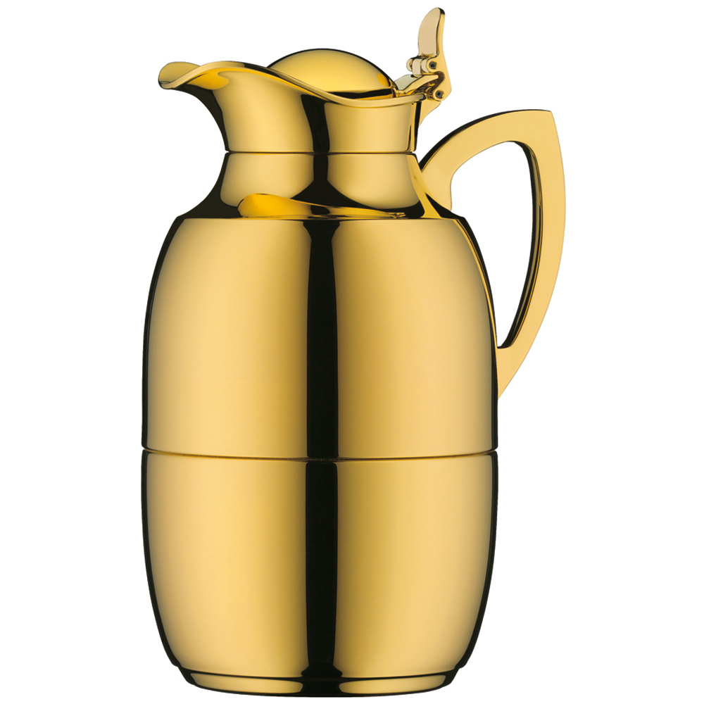 alfi vacuum carafe juwel thermal carafe coffee pot gold. Black Bedroom Furniture Sets. Home Design Ideas