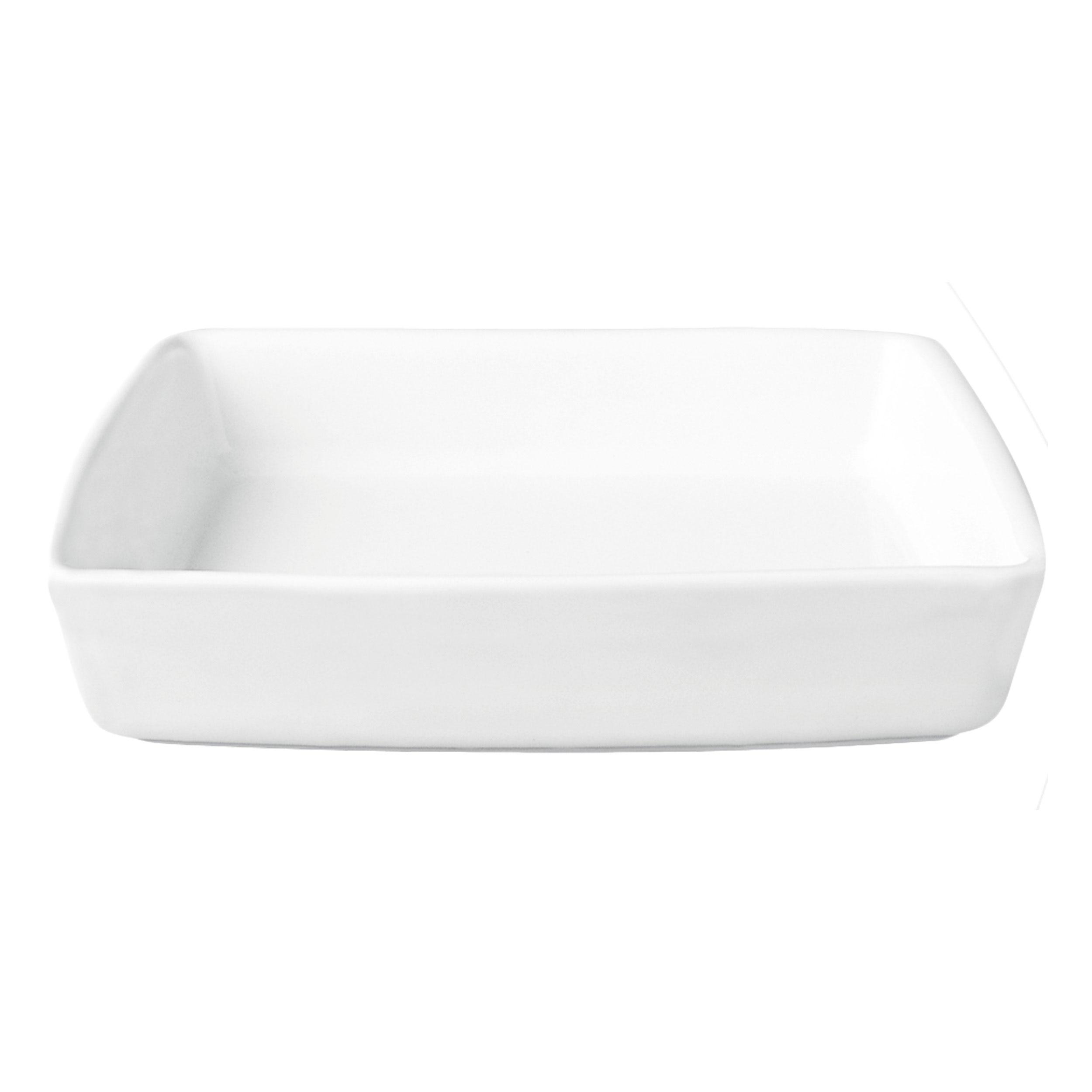 ASA Selection Grande Auflaufform Rechteckig Ofenform Weiß B 18.5 cm 5027147