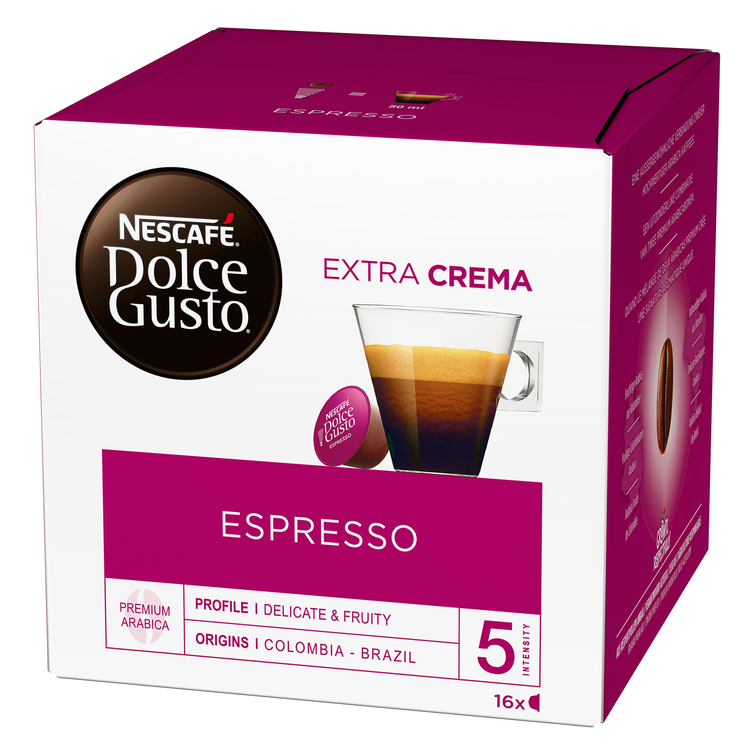 nescaf dolce gusto espresso 16 capsules at about shop. Black Bedroom Furniture Sets. Home Design Ideas