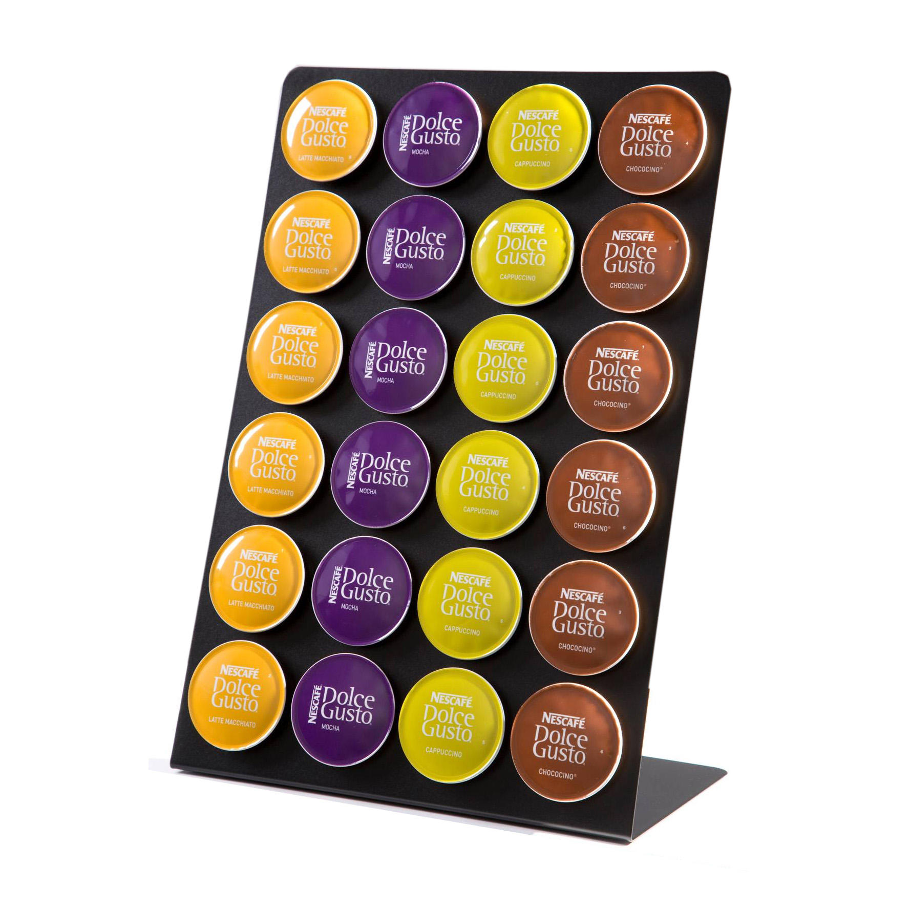 coffeeboard capsule holder for dolce gusto capsules. Black Bedroom Furniture Sets. Home Design Ideas