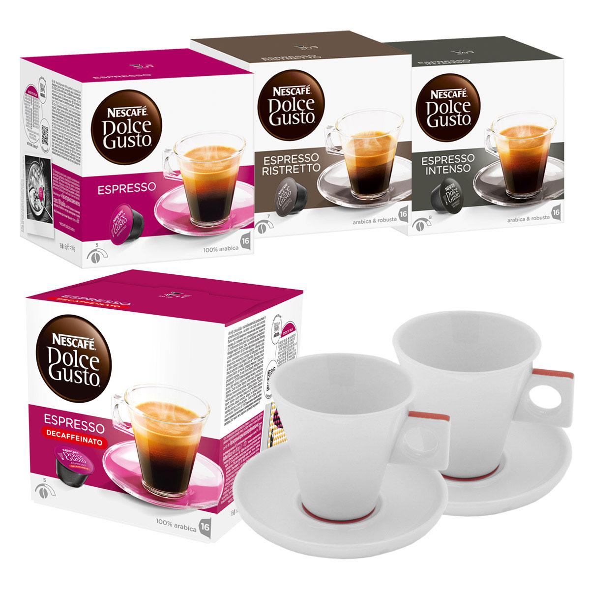 nescaf dolce gusto espresso quartett deluxe 4 varieties espresso 64 capsules 2 dolce gusto. Black Bedroom Furniture Sets. Home Design Ideas