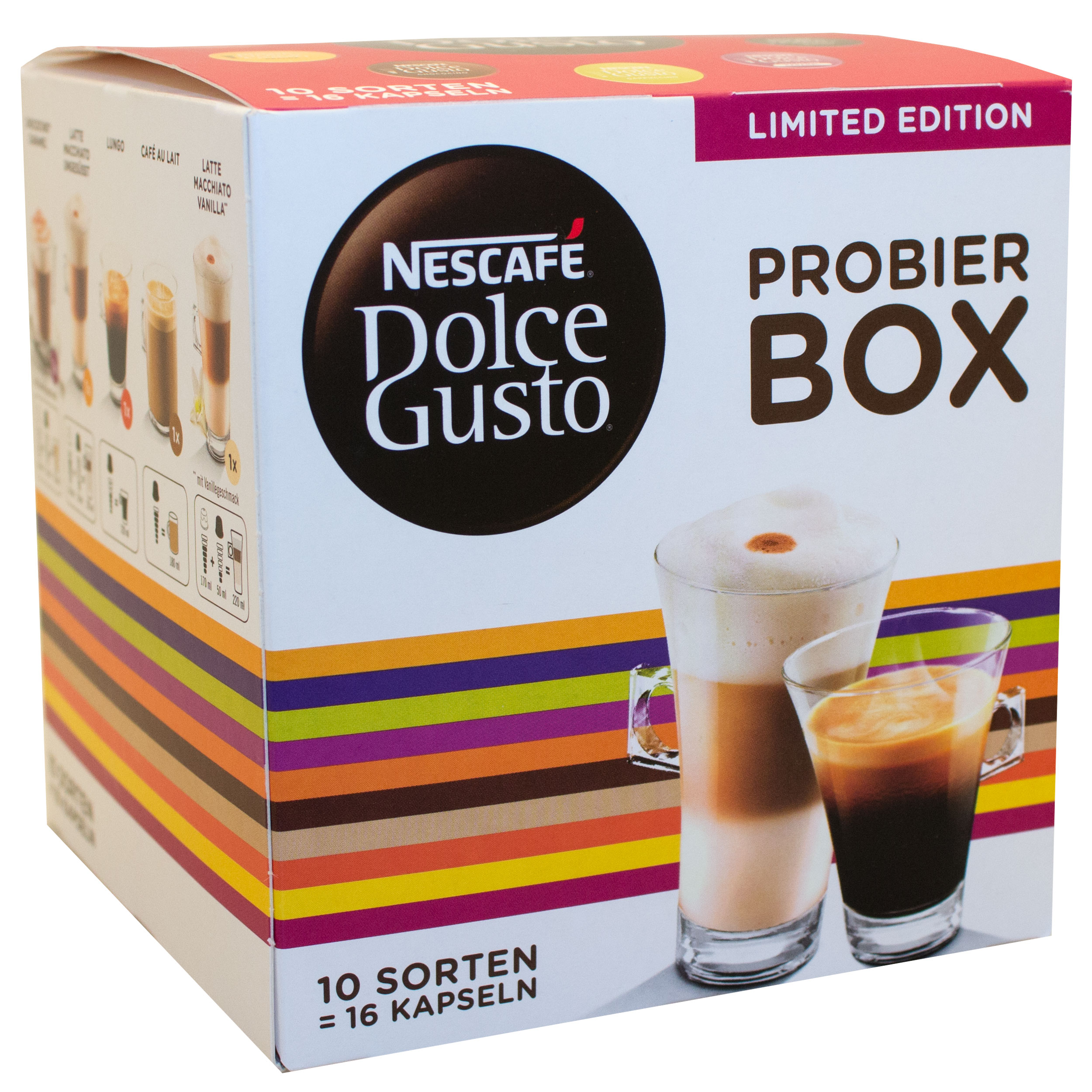 Nescaf 233 Dolce Gusto Try Box Mix Coffee Cappuccino