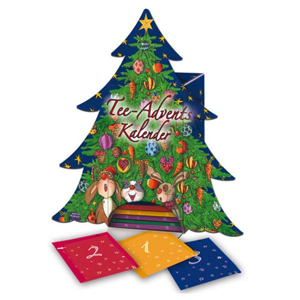 goldm nnchen tannenbaum adventskalender advent calendar with christmas tree 24 different tea. Black Bedroom Furniture Sets. Home Design Ideas