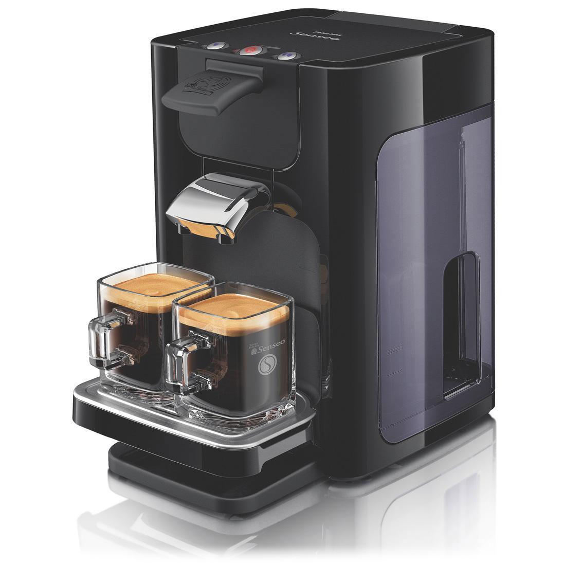philips senseo quadrante hd 7860 60 black 2 x senseo. Black Bedroom Furniture Sets. Home Design Ideas