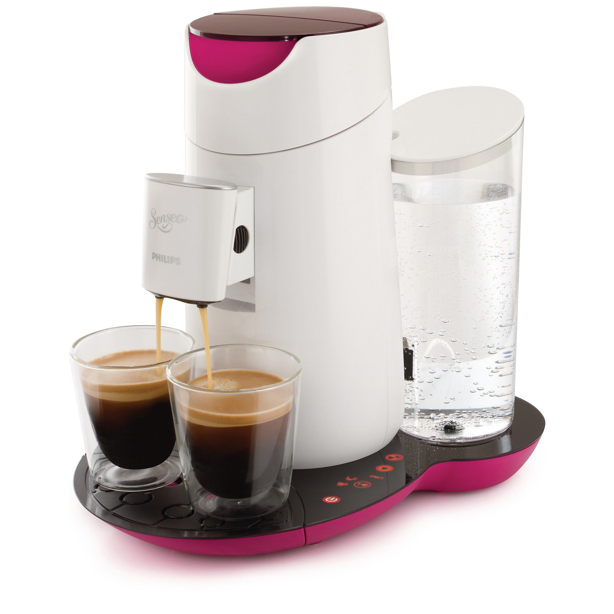 philips senseo twist coffee pod machine hd7870 20 fuchsia. Black Bedroom Furniture Sets. Home Design Ideas