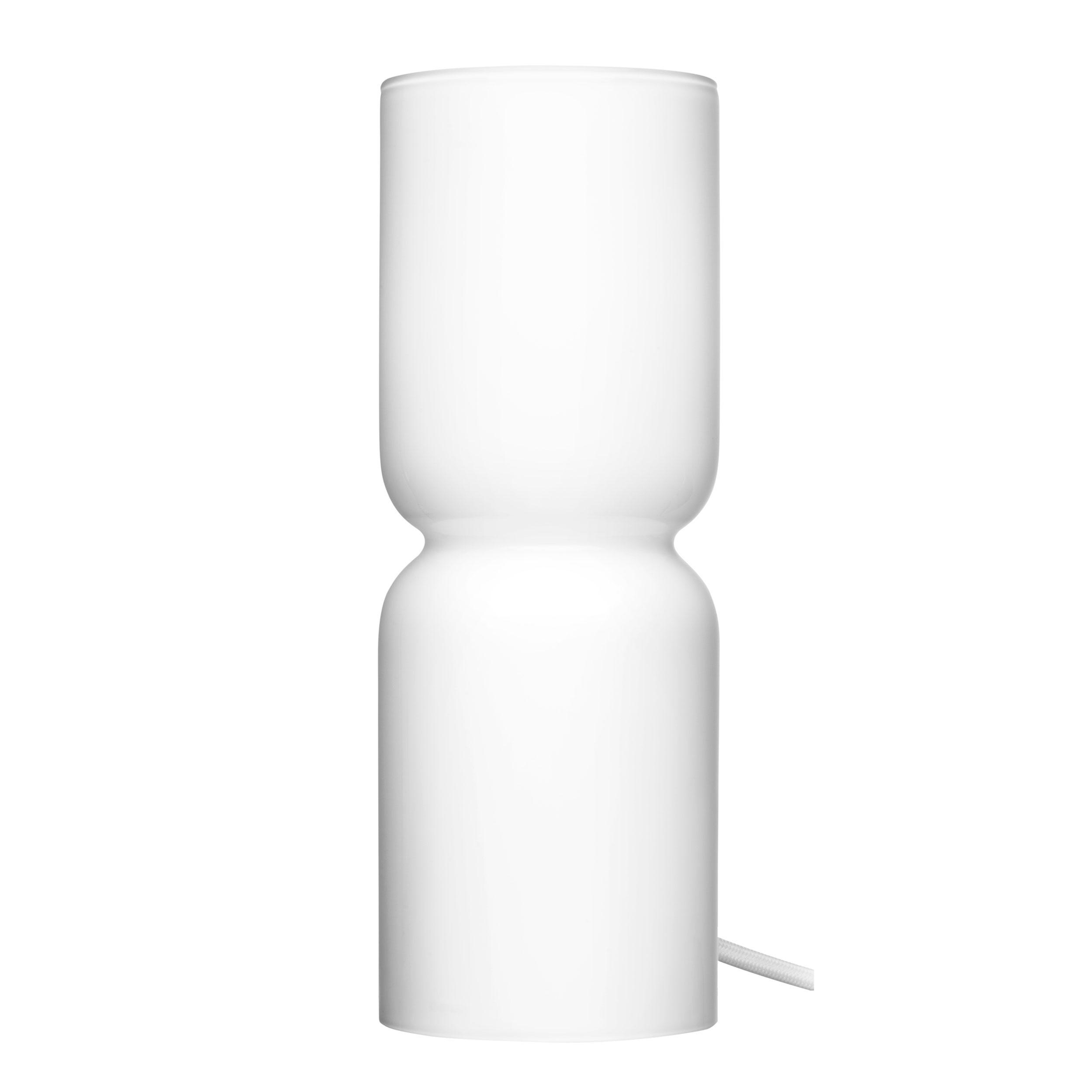 Iittala Lantern Lamp Table Light Table Lamp Floor Light Floor Lamp Glass White Opal 25 Cm 1009434 At About Tea De Shop