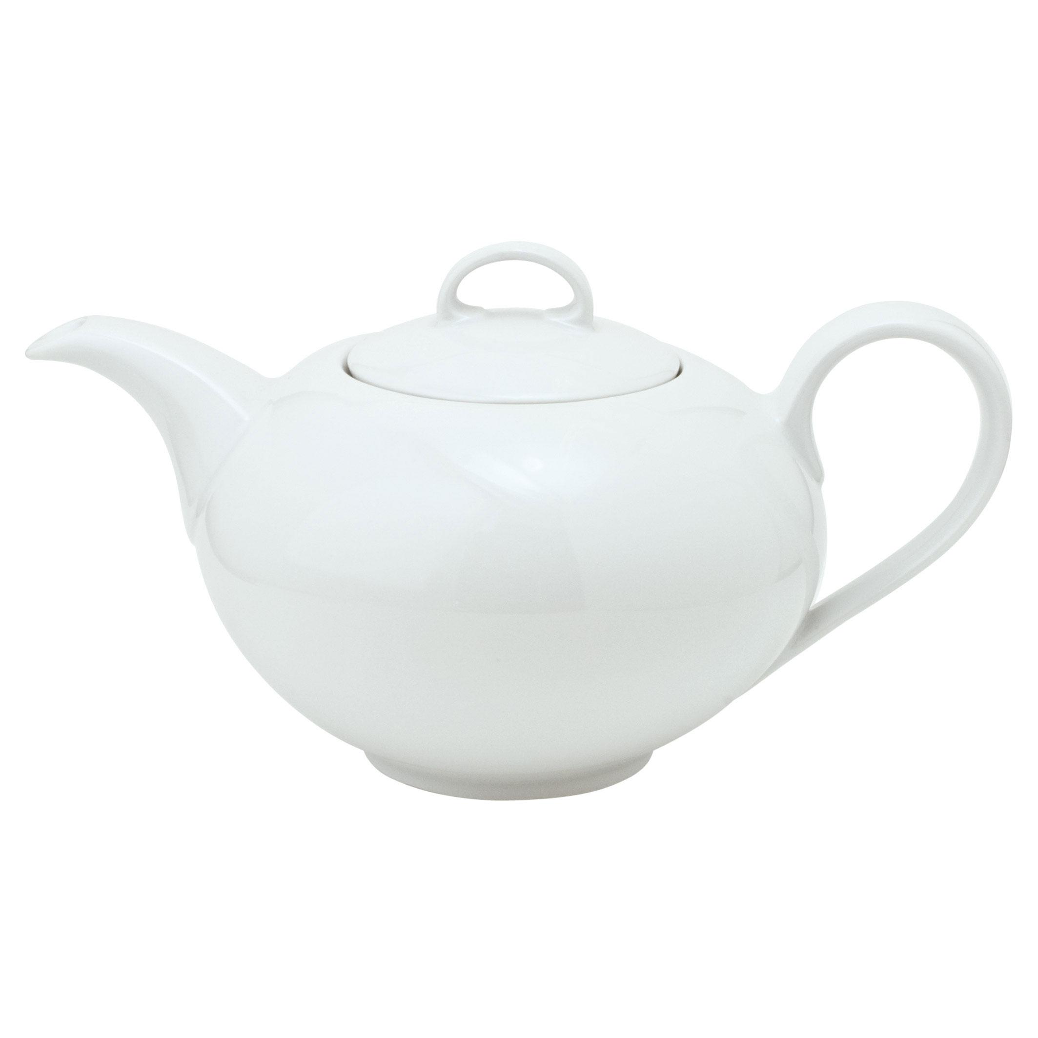 kahla aronda tea pot 1 1 l porcelain white 051402a90005b at about shop. Black Bedroom Furniture Sets. Home Design Ideas