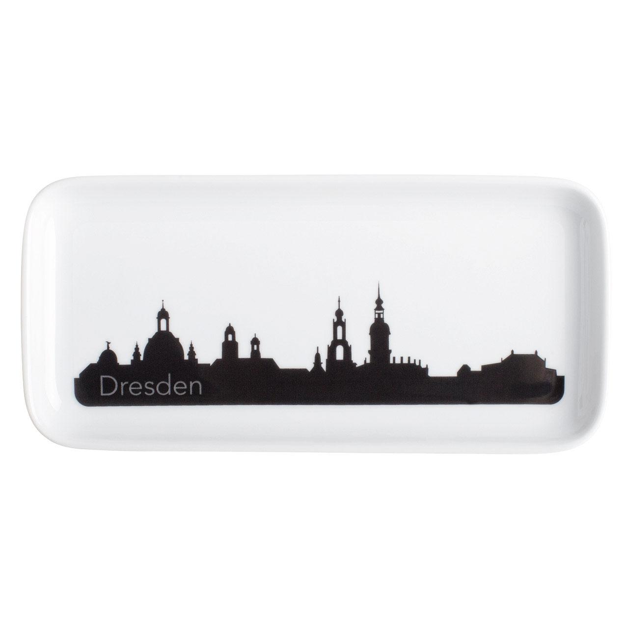 Unglaublich Skyline Dresden Das Beste Von Kahla Notes Abra Cadabra Tray, Rectangular, 20
