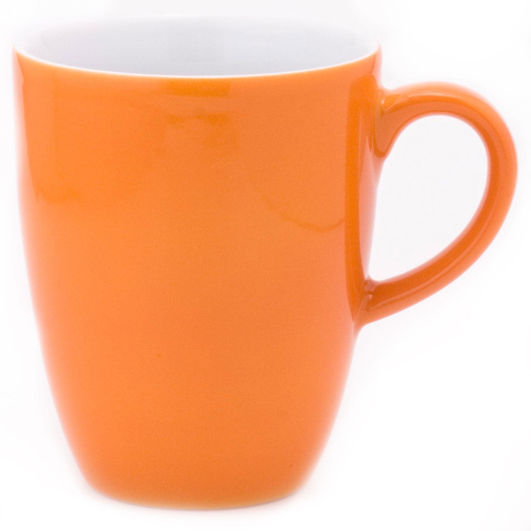 Kahla Pronto Colore Macchiatobecher Kaffee Tasse Becher Porzellan Orange 280 ml
