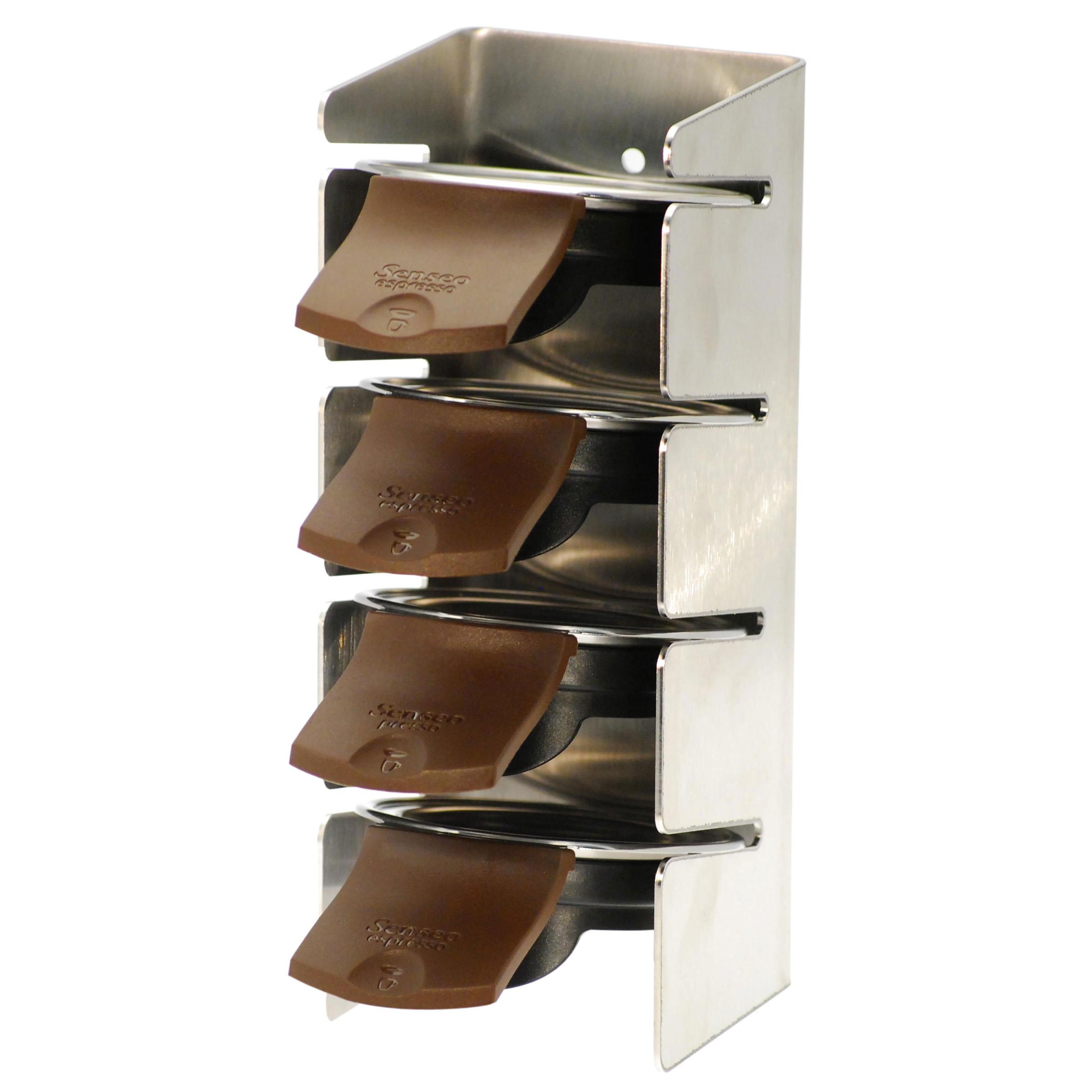 pod holder rack for senseo quadrante hd7860 at about shop. Black Bedroom Furniture Sets. Home Design Ideas