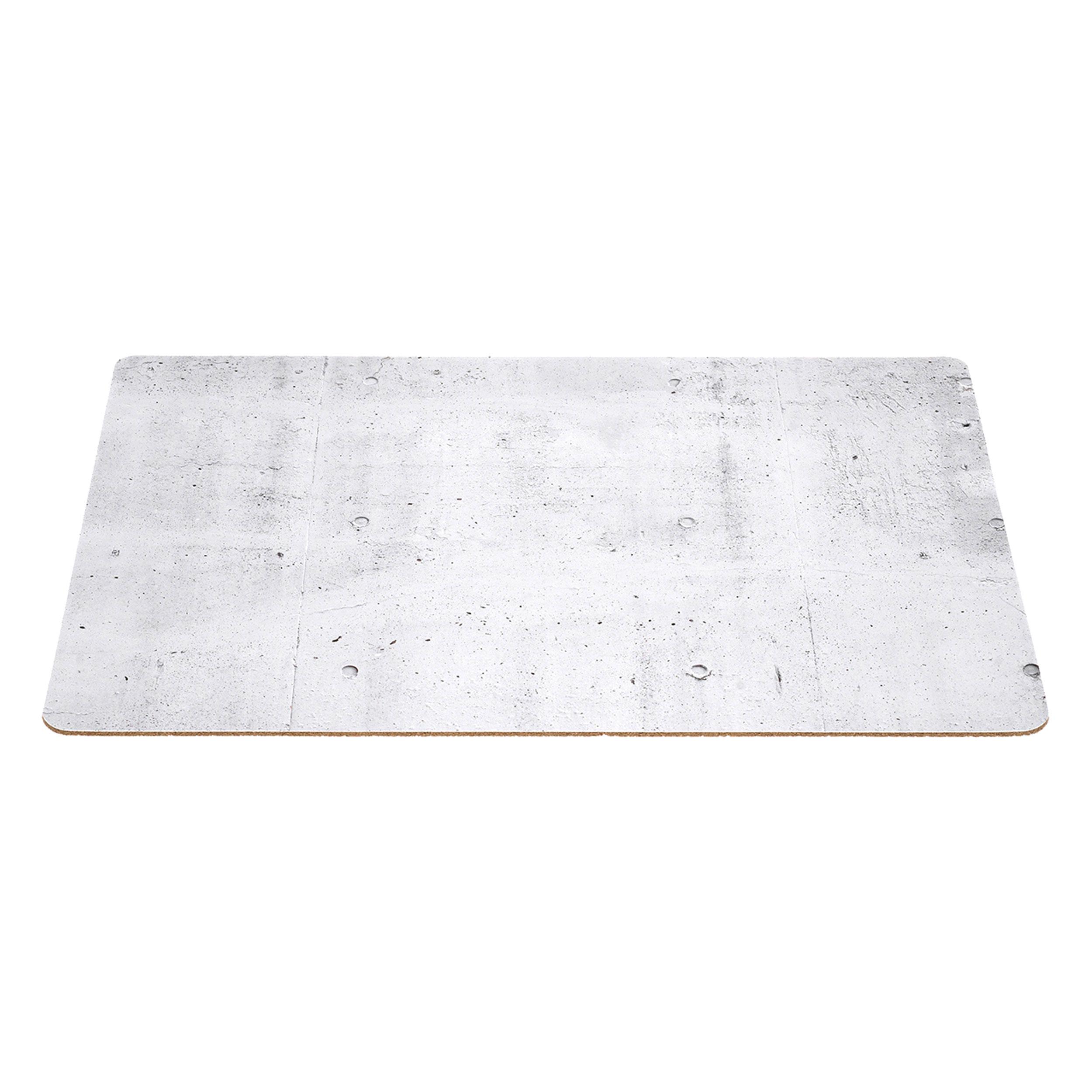 Leonardo Placemat Place Mat Table Mat Concrete Look Cork Grey