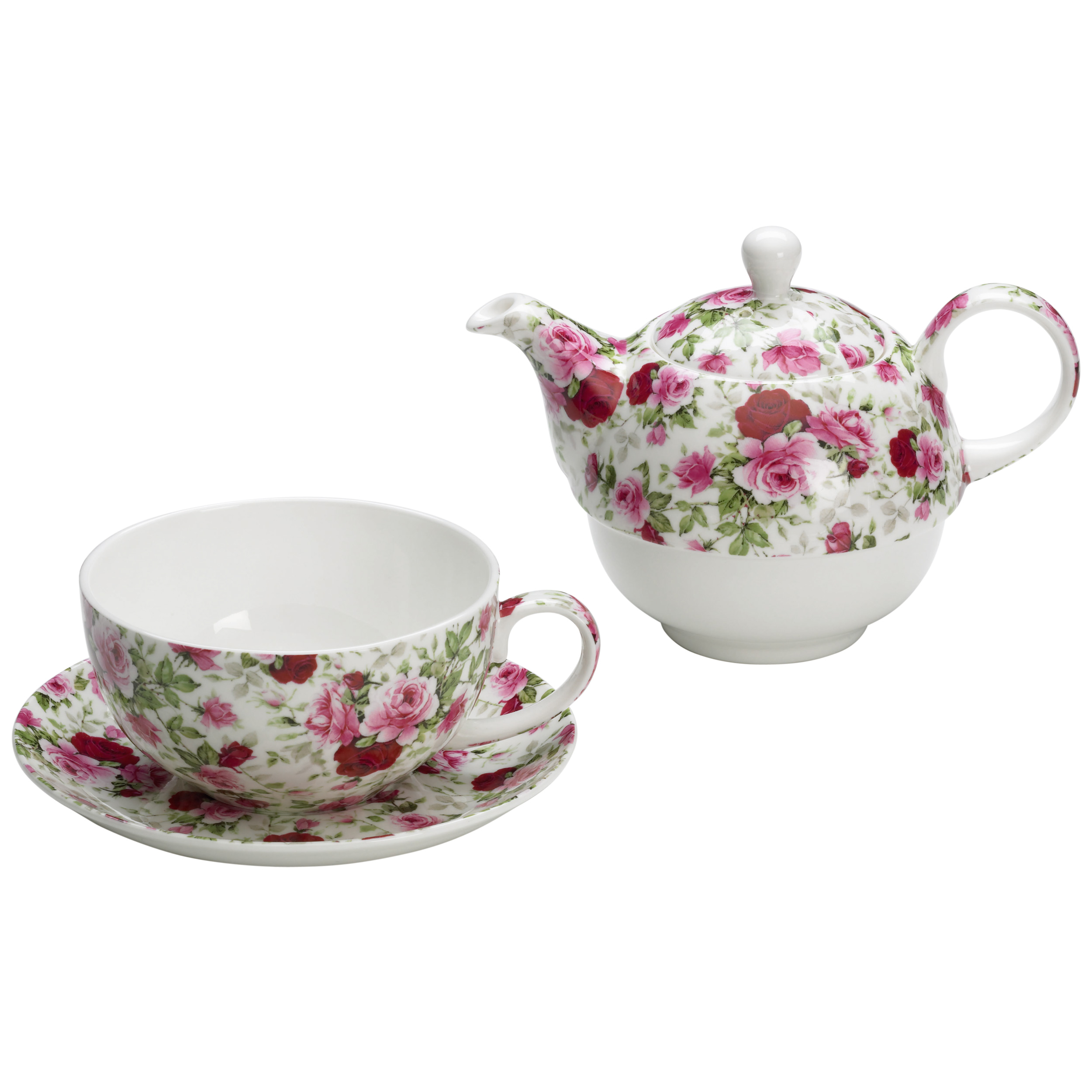 maxwell williams royal old england tea set for one rose bud gb 3 pieces s3118710 at about. Black Bedroom Furniture Sets. Home Design Ideas