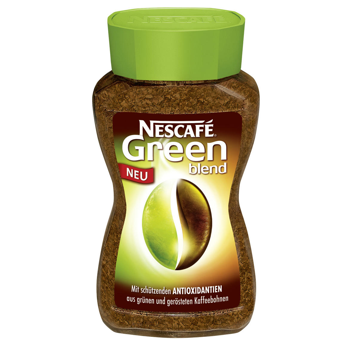 Nescafe Green Blend Instant Coffee 100g For 50 Cups Of