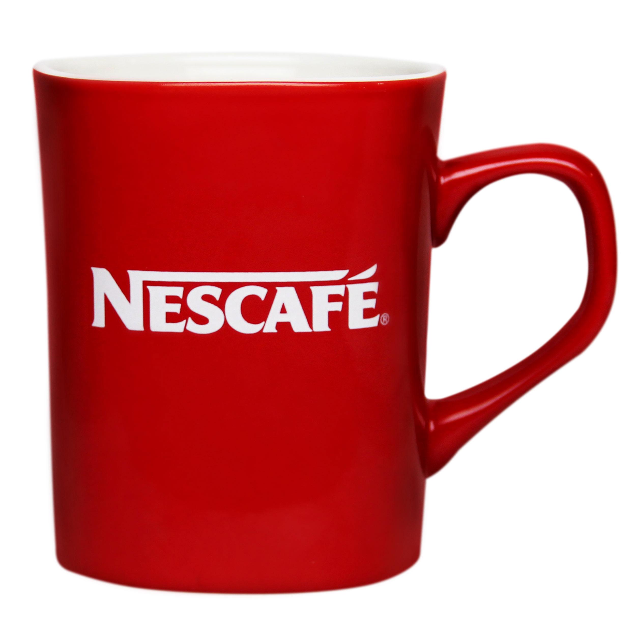 Nescaf 233 Design Cup Mug For Coffee Tea Glass Square