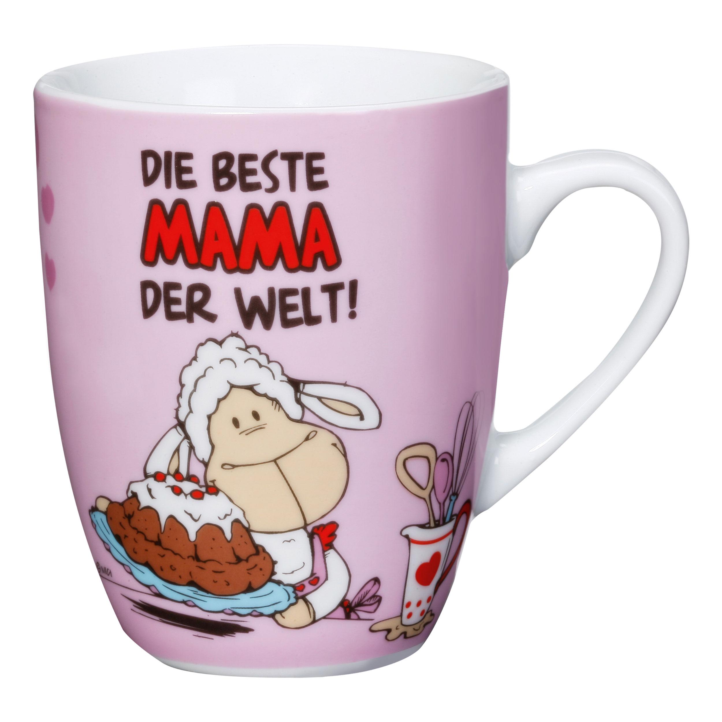 NICI Tasse Die beste Mama der Welt, Kaffeetasse ...