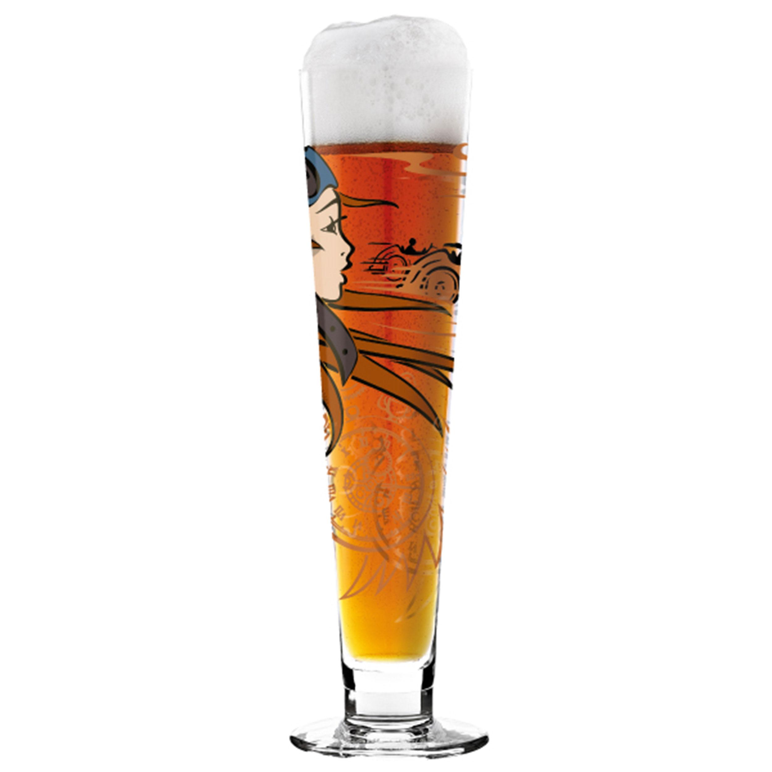 Ritzenhoff Black Label Beer Beer Glass With Beer Mat