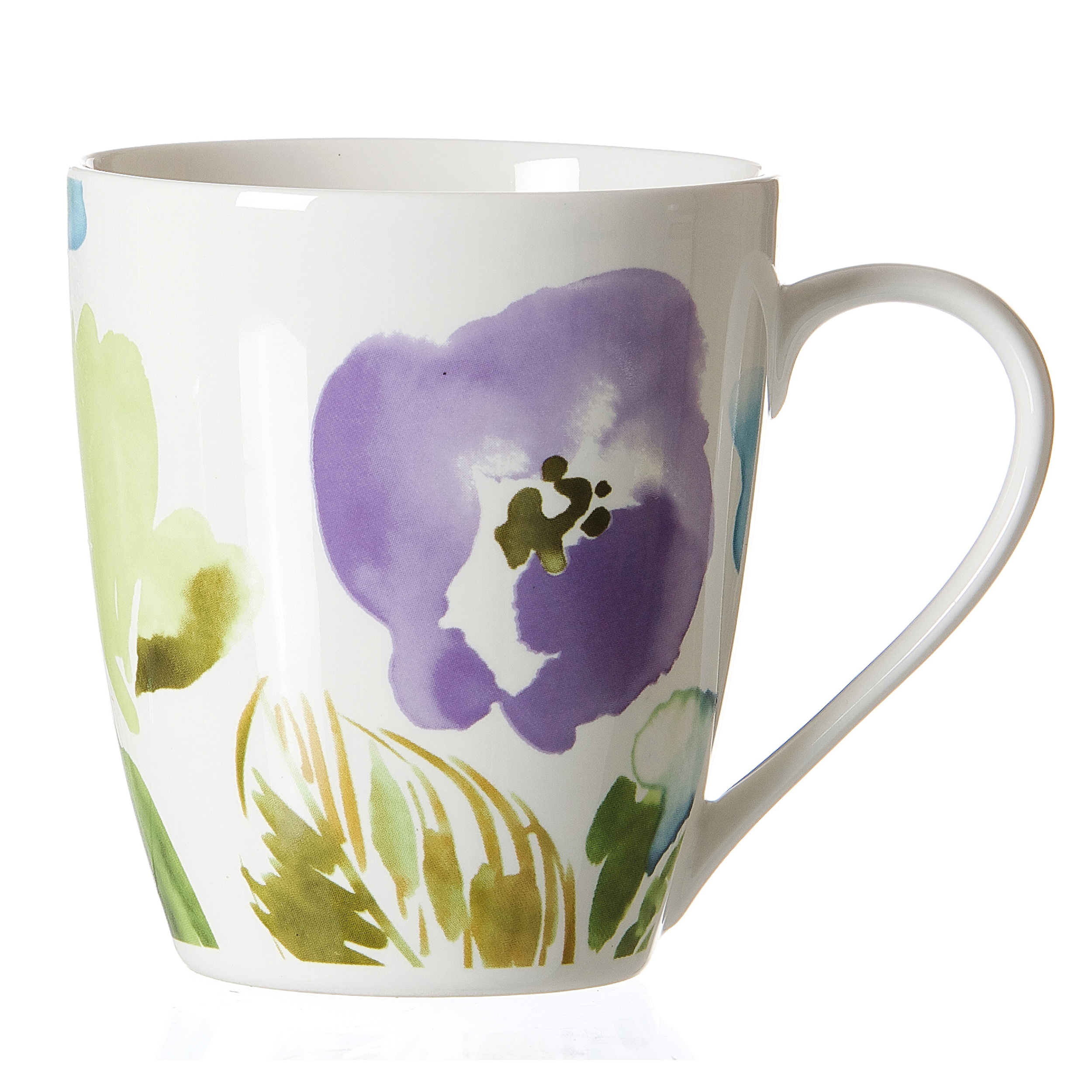 ritzenhoff breker coffee cup fiorano flower design mug. Black Bedroom Furniture Sets. Home Design Ideas