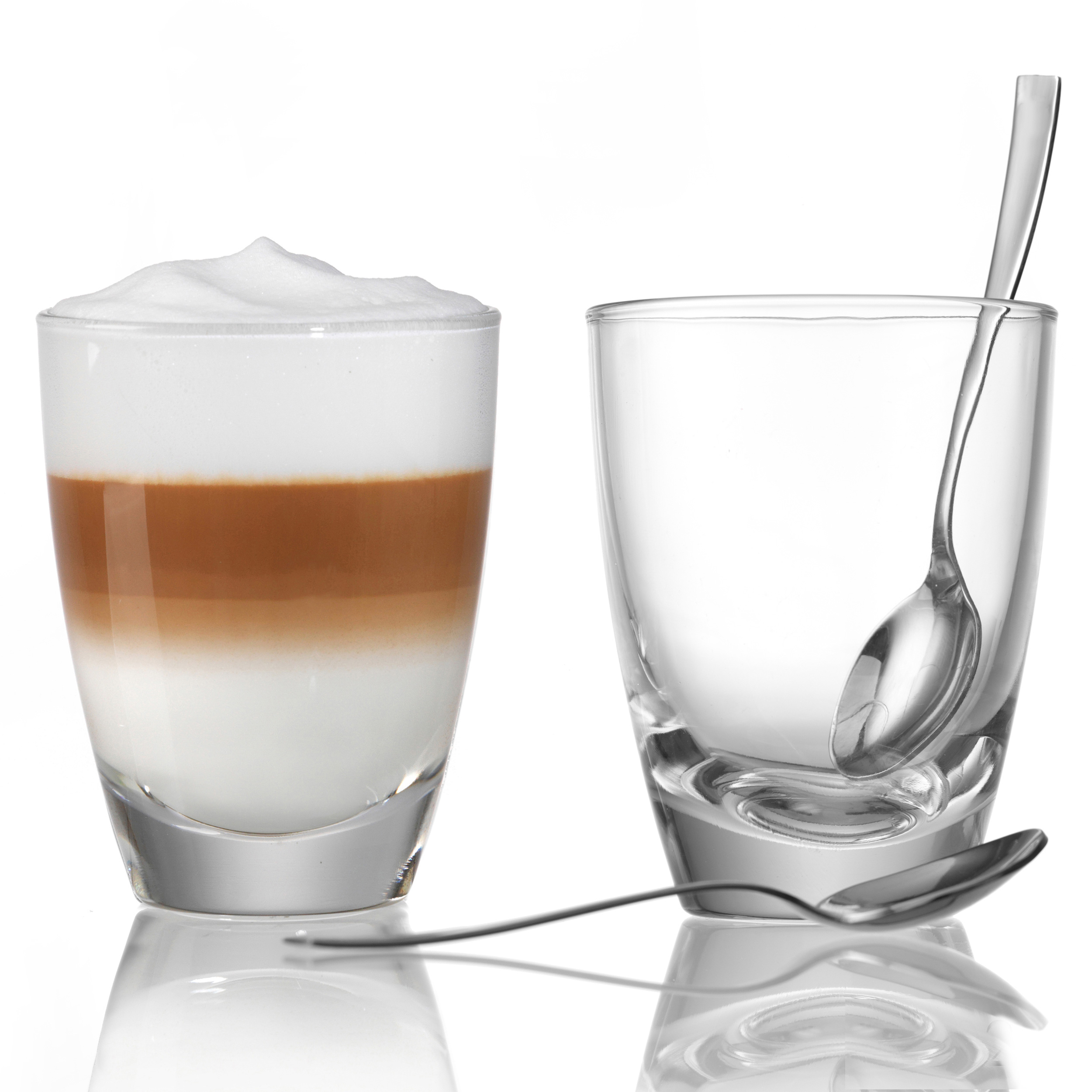 ritzenhoff breker gondola latte macchiato glass set of 2 transparent glass at about shop. Black Bedroom Furniture Sets. Home Design Ideas