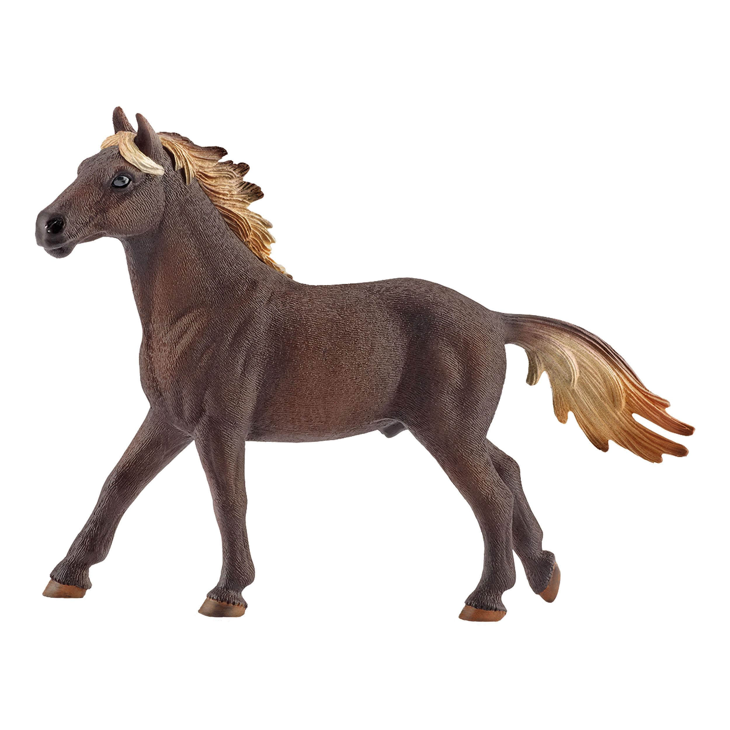 Schleich Farm Life Mustang Hengst Pferd Wildpferd Pferdehof Spielfigur 11 cm