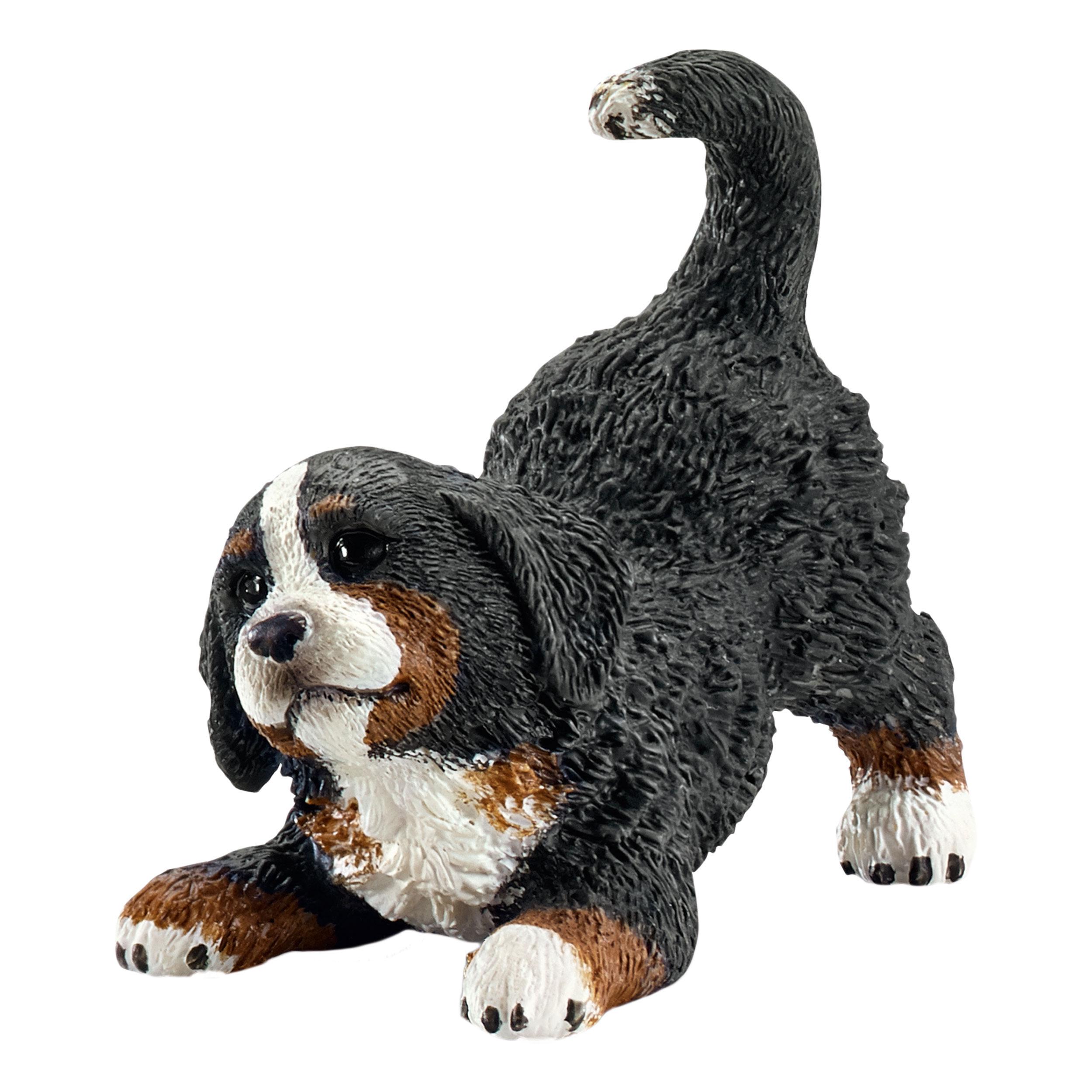 Schleich Farm Life Bernese Mountain Dog Puppy Dog Rescue Dog Action Figure 4.5cm
