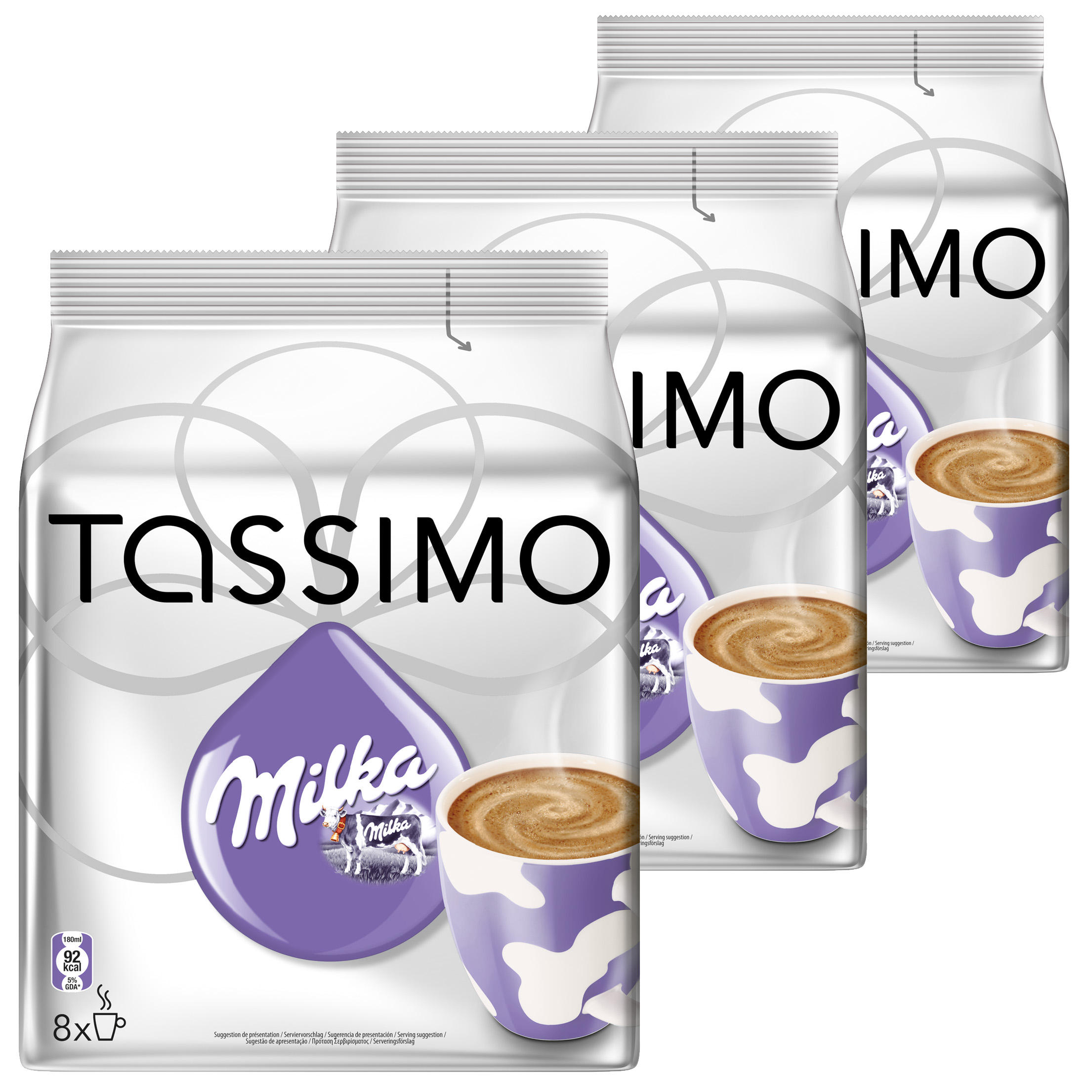 Tassimo Milka Hot Chocolate Pack Of 3 3 X 16 T Discs 24 Servings At About Teade Shop