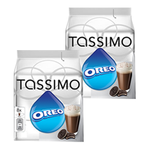 Tassimo Oreo Cacao Hot Chocolate Drinking Chocolate With Cookie Taste 2 Pack 32 T Discs 16 Servings At About Teade Shop