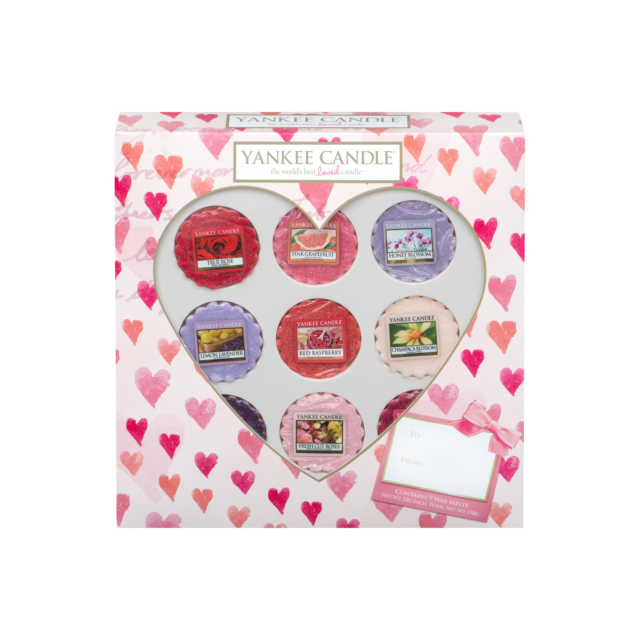 Yankee Candle Gift Set Valentines Day 9 Tarts Scented Wax Scent 1334537